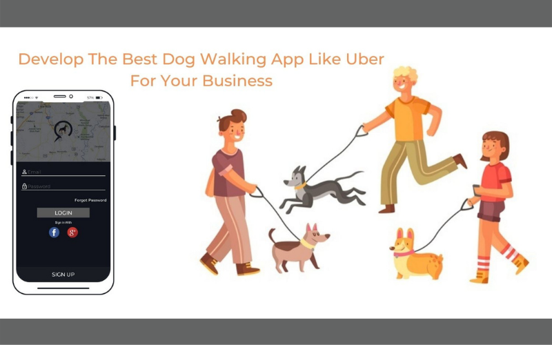 Develop The Best Dog Walking APP Like Uber For Your Business With Advanced Features