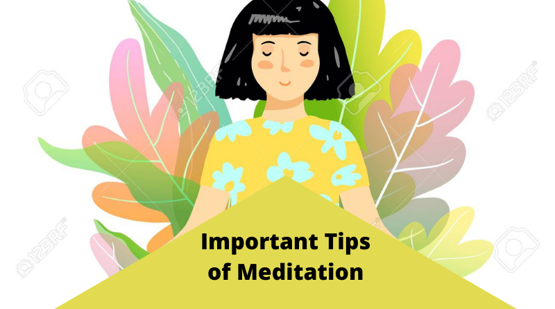 important tips of meditation for beginners