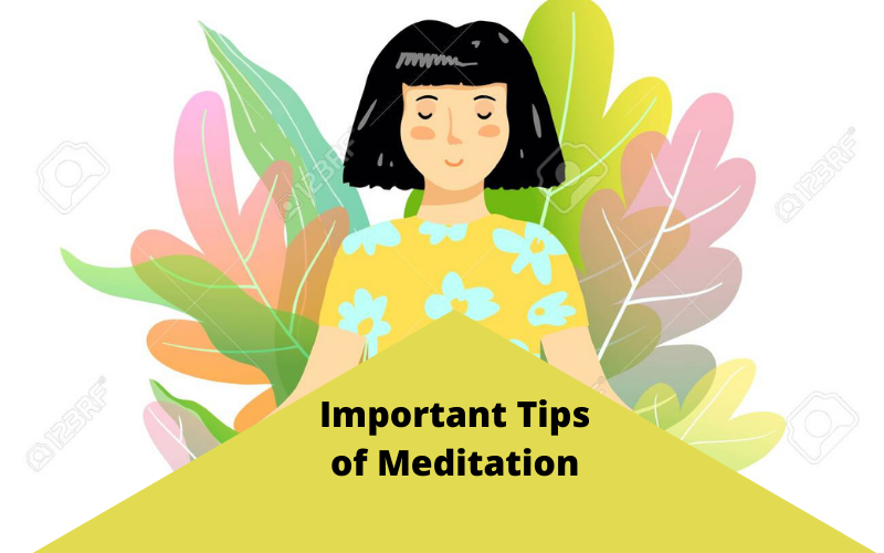 5 Important Tips of Meditation For Beginners
