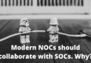 Modern NOCs should collaborate with SOCs. Why?